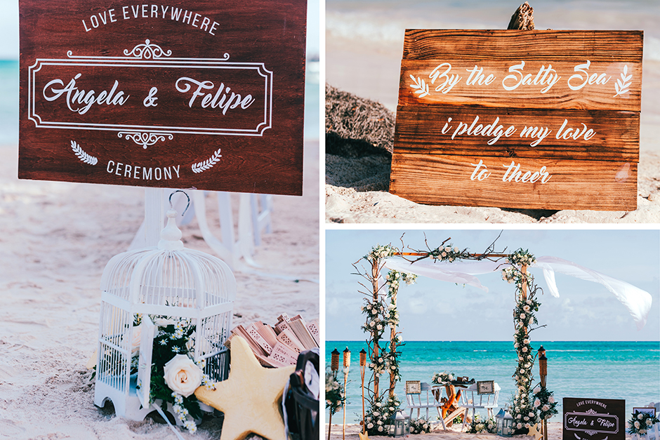 decoracion bodas en la playa